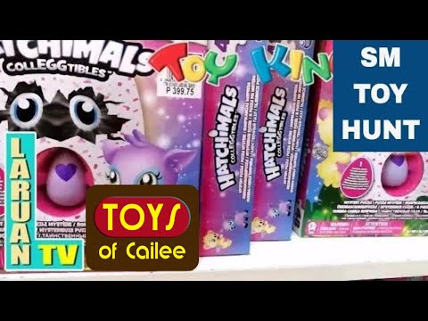TOYS: Hatchimals And More: SM Toy Kingdom Hunting