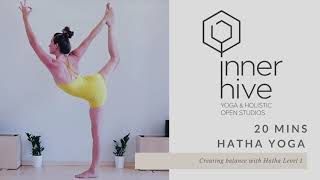 Creating Balance with Hatha Yoga | Inner Hive with Bryony Giboin