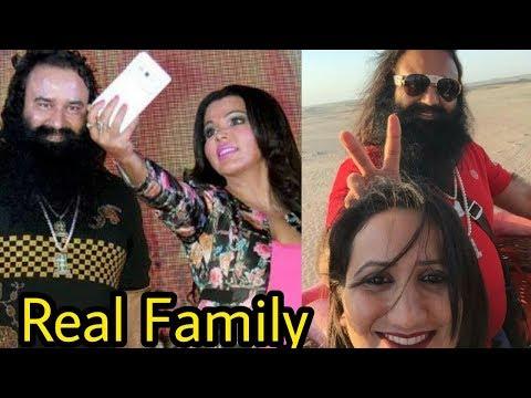 Real Life Family and Frnds of Baba Ram Rahim Gurmeet Singh Ji |