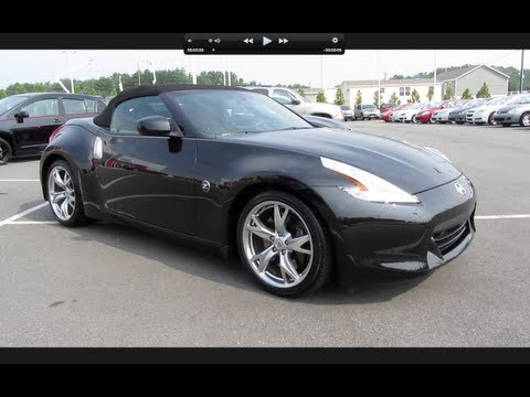 2011 Nissan 370Z Touring Roadster Start Up, Exhaust, and In Depth Tour