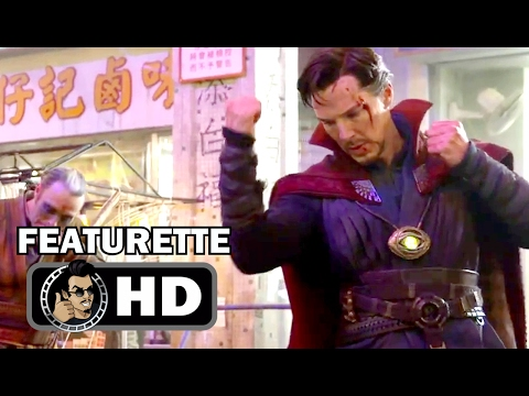 DOCTOR STRANGE Blu-Ray Clip - Fight Scenes (2017) Benedict Cumberbatch Marvel Movie HD
