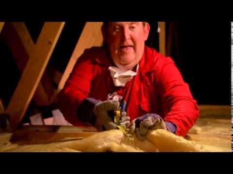 How to Install loft insulation -- Knauf Earthwool, Save Energy