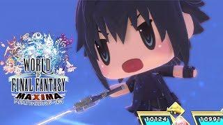 World of Final Fantasy MAXIMA Noctis Fishing Leviathan Gameplay Walkthrough (PS4 PRO)