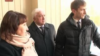 Губернатор Сергей Митин сегодня проинспектировал парк 1150 -- летия Великого Новгорода