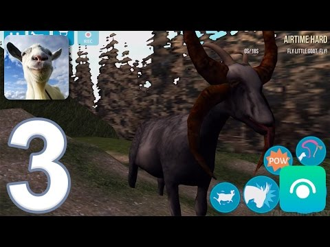 Goat Simulator - Gameplay Walkthrough Part 3 - Goatville Completed (iOS, Android)