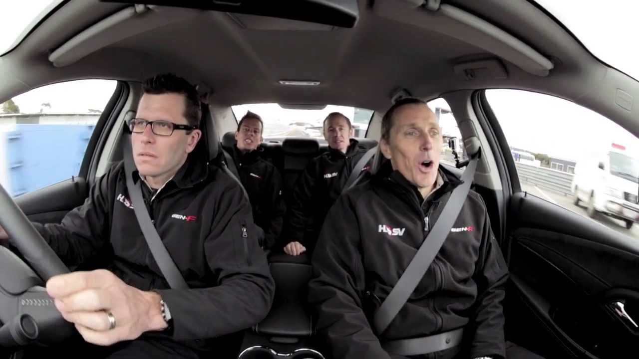 Episode 4: HRT's Garth Tander raises the pulses of 3 other V8 Supercar Drivers in the GTS!