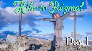 Epic 2 day hike to the peak of Puigmal (2,913 m) l Our first climb to the top in Pyrenees