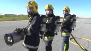 Simulacro no Aeródromo de Évora