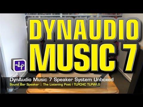 Dynaudio Music 7 Sound Bar Media System | The Listening Post | TLPCHC TLPWLG