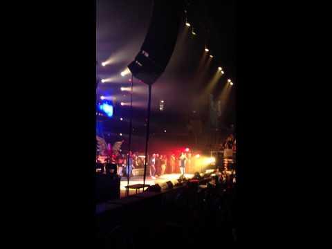 Wiz Khalifa at chesapeake energy arena , OKC .