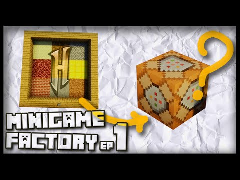 Can We Recreate Minigames From Hypixel With Command Blocks? - Minigame Factory #1