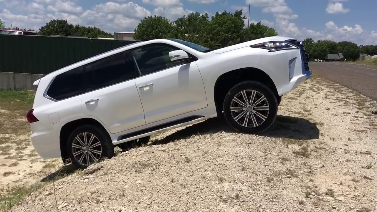 The Best Family Car Money Can Buy?   2017 Lexus LX570 Review