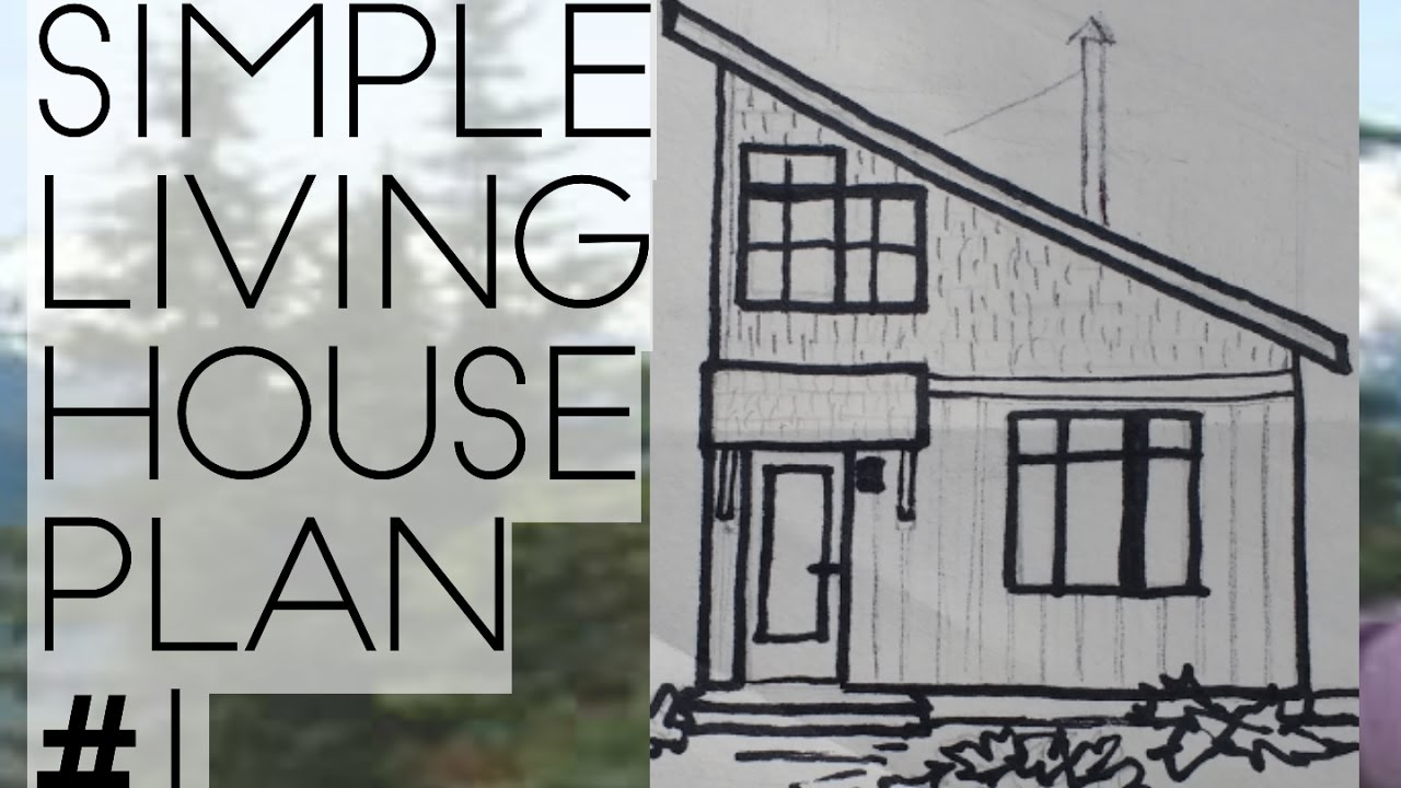 MINIMALIST SMALL LIVING HOUSE PLAN FOR A FAMILY001 A SIMPLE HOUSE