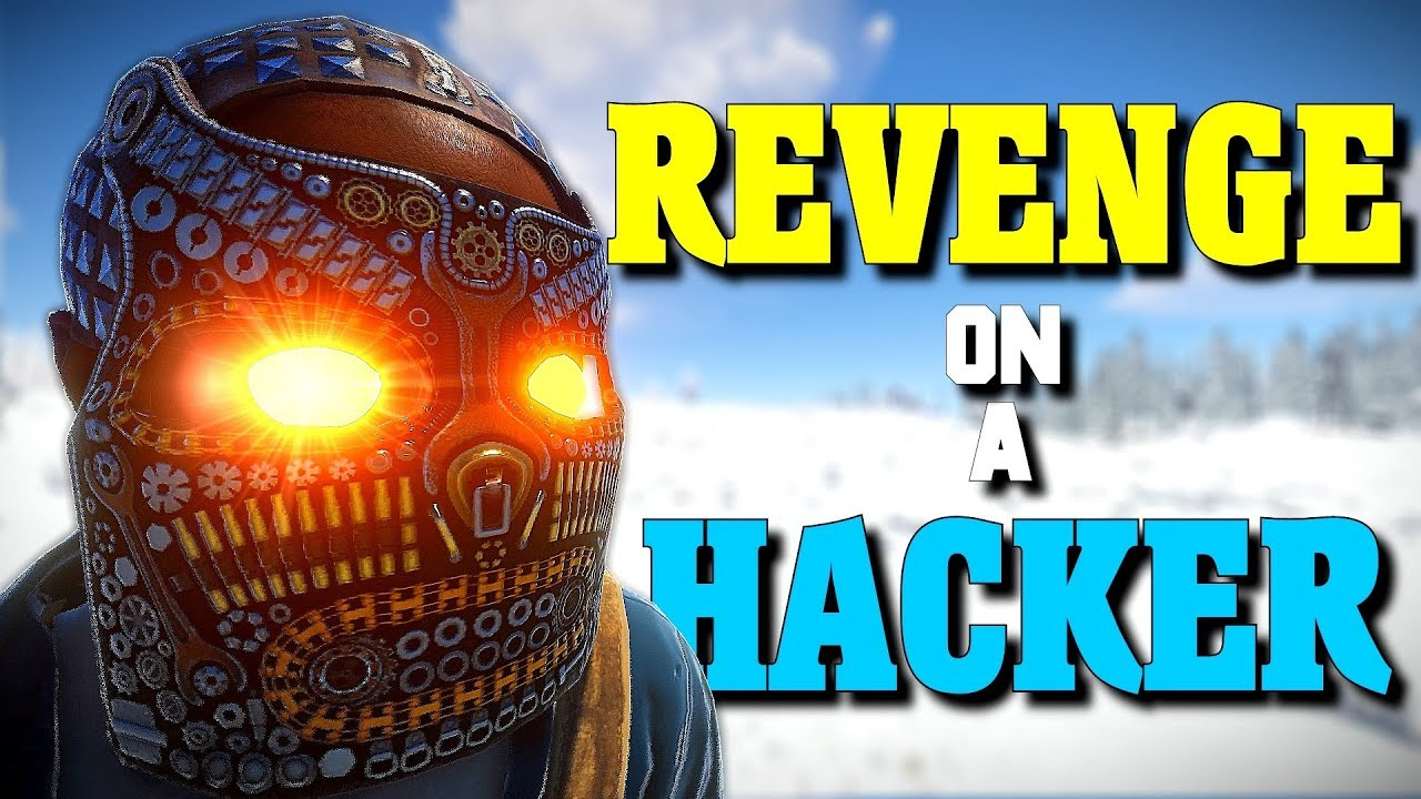 Taking All Of A Hackers Loot Rust Youtube
