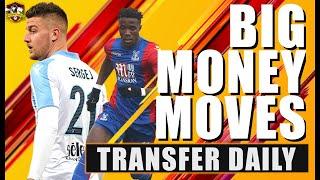 Milinkovic-Savić to Manchester United Update! Arsenal make new Wilfried Zaha bid! Transfer Daily