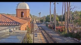 San Juan Capistrano, California USA - Virtual Railfan LIVE