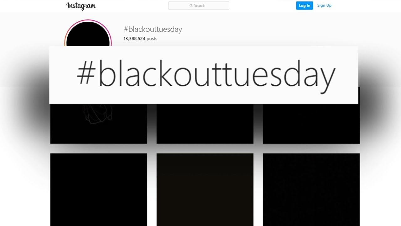 Redes sociales se oscurecen por el Black Out Tuesday | Show News