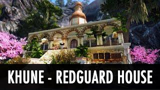 Skyrim Mod: Khune - The Redguard House