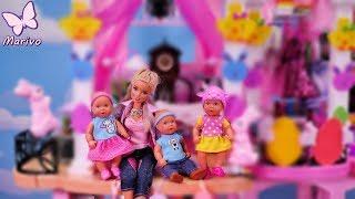 Rodzinka Barbie #22 * WIELKANOC - PISANKI I DEKOROWANIE DOMU * Bajka po polsku z lalkami Video