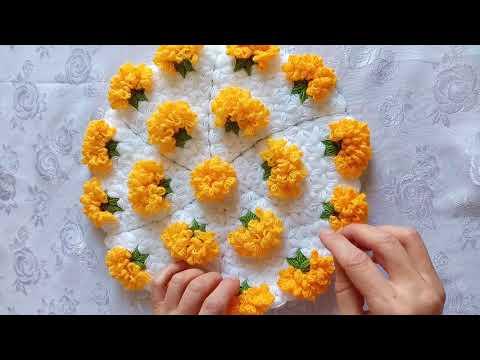 LİF AŞKI- Kadife Çiçeği lif modeli yapımı.