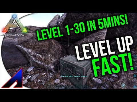 Level up fast! | New Official PvP Servers | ARK: Survival Evolved | Ep 26