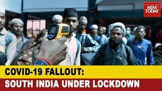 Covid-19 Outbreak: South Indian States Under Lockdown; Public Transport Shut Down, Metros Suspended