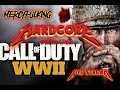 HARDCORE Call of Duty WWII  Hardcore Domination Live Stream 1.19.18