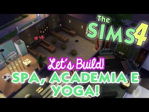 Construindo SPA Fofo! + Academia e Sala de Yoga ♥ Lalaland Games