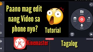 Download How to Edit Video IN KINEMASTER? TUTORIAL (TAGALOG)