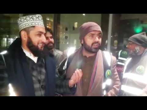 Feeding The Homeless With International Naat Khuwans In Manchester UK 2018