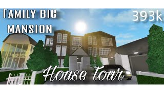 ROBLOX | Bloxburg: My Big Family Mansion [House Tour] 393k with car