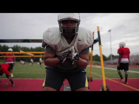 Susquehanna Township High School football practice