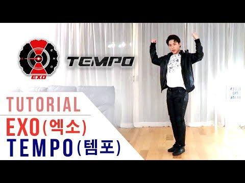 EXO (엑소) - TEMPO (템포) Tutorial (Mirrored + Explanation) | Ellen and Brian