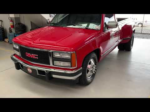 A VENDA: GMC SIERRA 2500HD 6.5 DIESEL DUALLY - Câmbio Manual