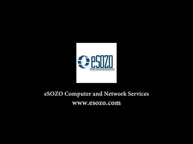 eSOZO Computer & Network Services Intro