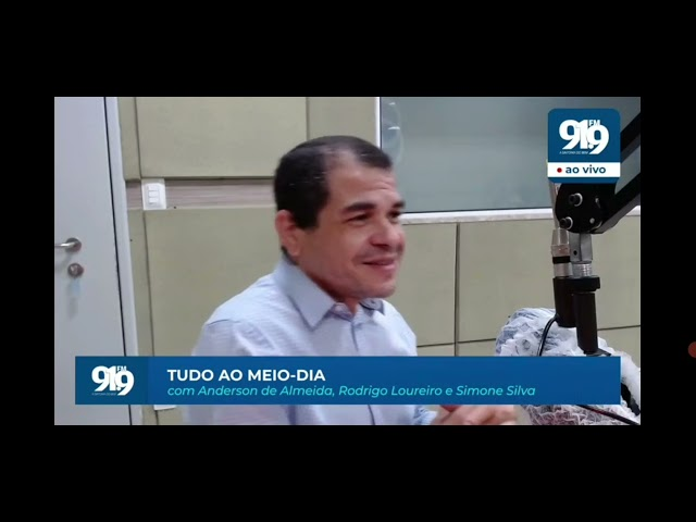 Entrevista Radio 91.9FM - Eólicas offshore e hidrogênio verde no RN (04/10/21)