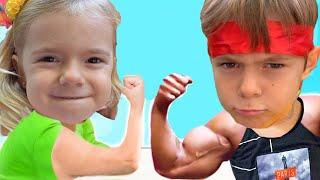 Lupta Bakugan intre fete si baieti