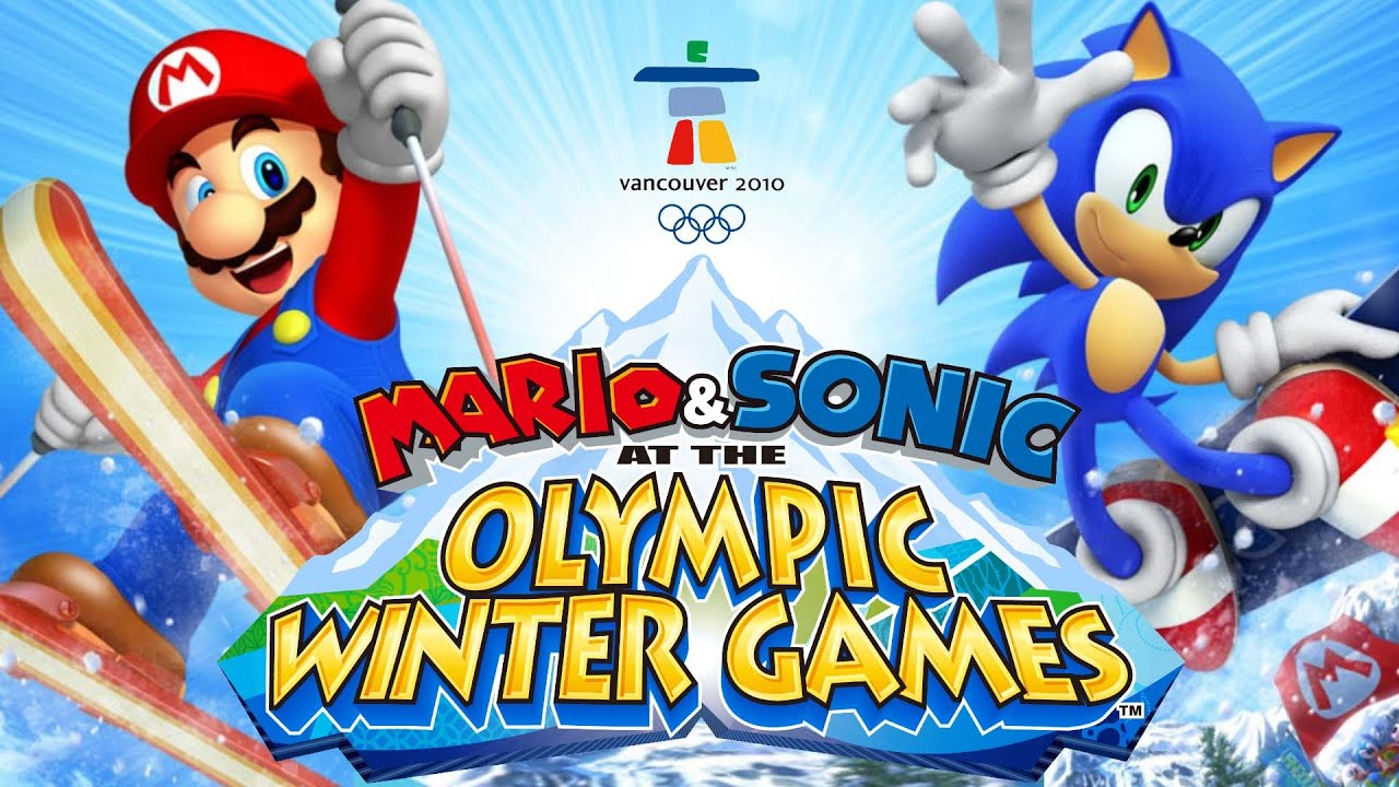 Mario & Sonic at the Olympic Winter Games (Vancouver 2010) - All Events & Dream Events in 1s