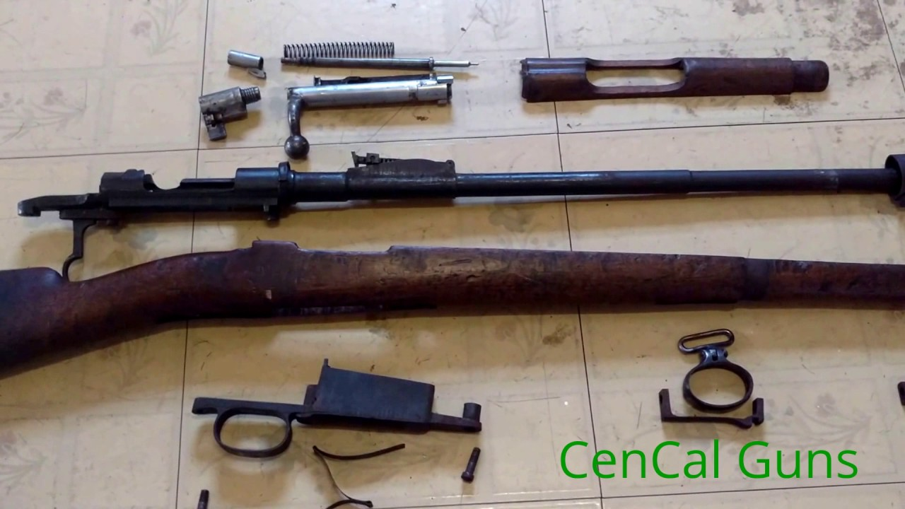 How to field strip your Mauser Rifle - YouTube