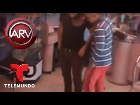 Al Rojo Vivo | Ladrones asaltan a un estilista y a su cliente en un salón | Telemundo ARV