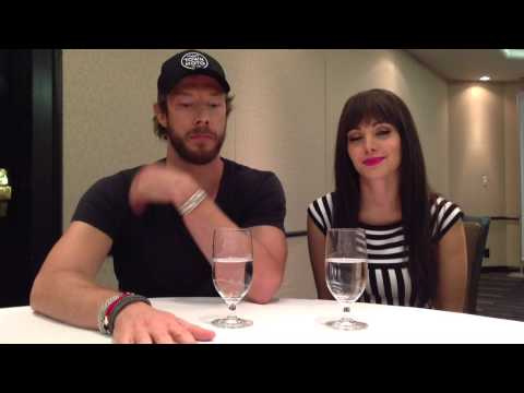 SciFi Vision:  Expo Canada 2013  Lost Girl Press Room  Kris HoldenRied & Ksenia Solo