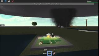 Roblox Tornado Warning: Tornado Destroys Weather Station