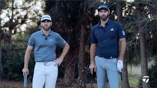 Dustin Johnson VS. Matthew Wolff Recovery Shot CHALLENGE   TaylorMade Golf