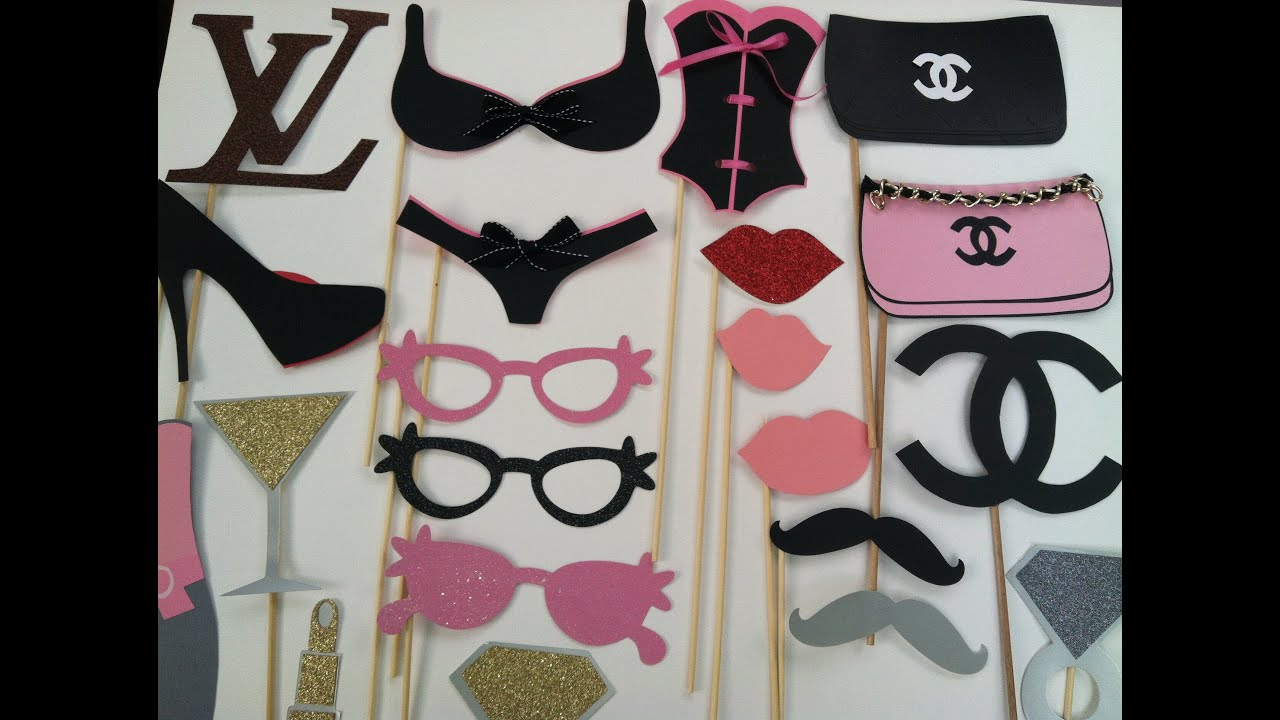 Photo Booth Props Fun For Weddings Birthdays Showers Or For Any