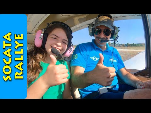 Father & Daughter flying in the Socata Rallye