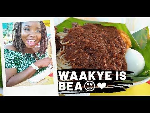 I FOUND LOVE IN ACCRA GHANA💃// WAAKYE IS BEA👍😋