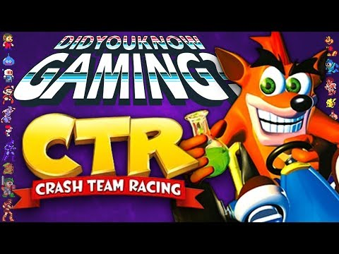 CTR Crash Team Racing - Did You Know Gaming? Feat. Caddicarus