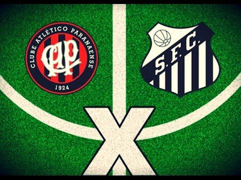 Melhores Momentos - Atletico PR 1 x 0 Santos - Brasileirão 2016 (18/06/16)