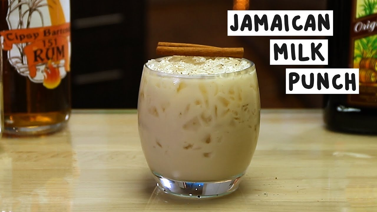 Jamaican Milk Punch - YouTube