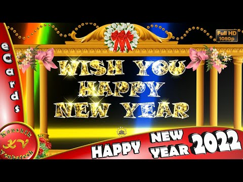 Happy New Year 2018, Wishes,Whatsapp Video,New Year Greetings,Animation,Message,Ecard,Download